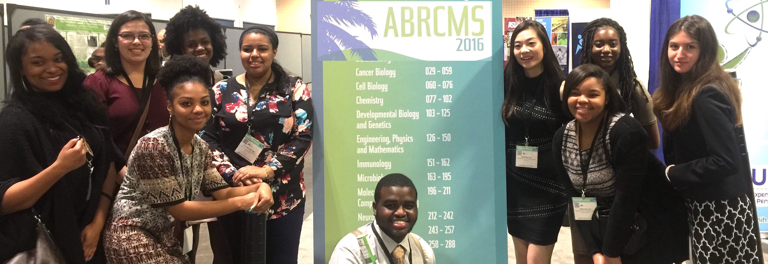 Winners at ABRCMS
